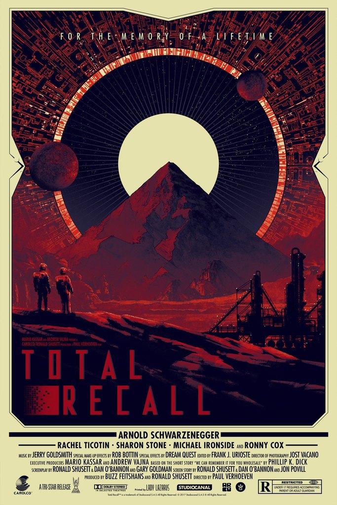 TOTAL RECALL Poster Art