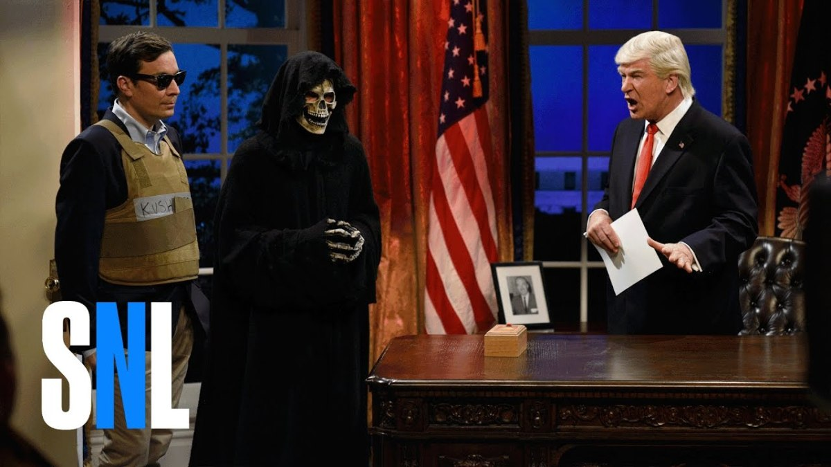 Jared Kushner And Donald Trump Burn-Tastic SNL Sketch