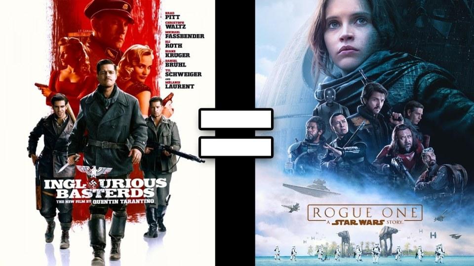 Inglourious Basterds & Rogue One