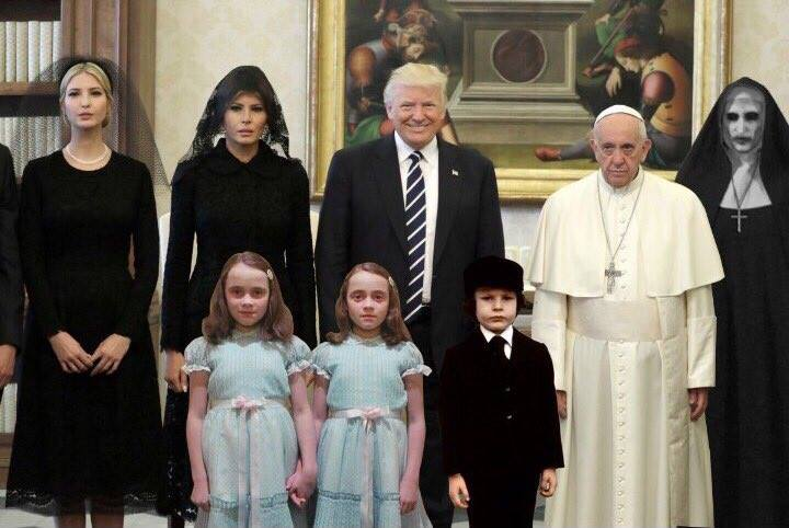 24 Divine Memes of Pope Francis and The Trumps