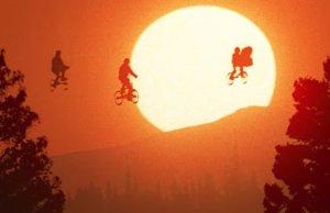 E.T.'s Flying Bike Scene