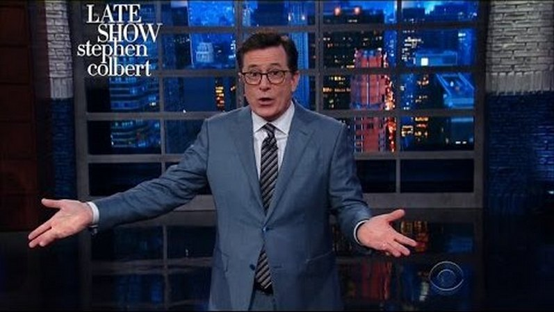 Stephen Colbert: Orbs And Swords Highlights Of Trump's Weekend In Saudi Arabia