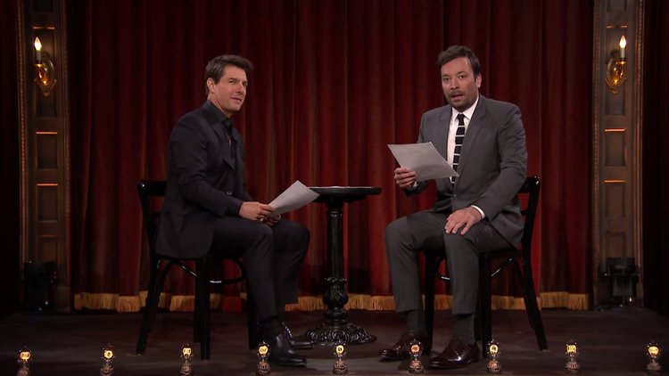 Jimmy Fallon And Tom Cruise