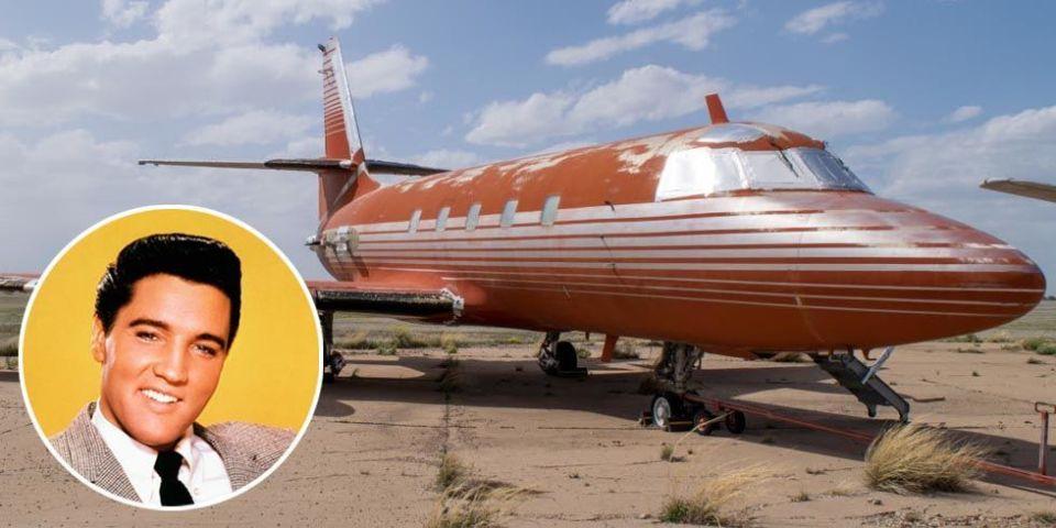Elvis Presley's Private Jet