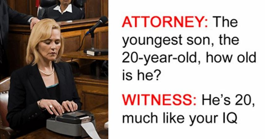 10 Most Hilarious Things Ever To Be Said In Court