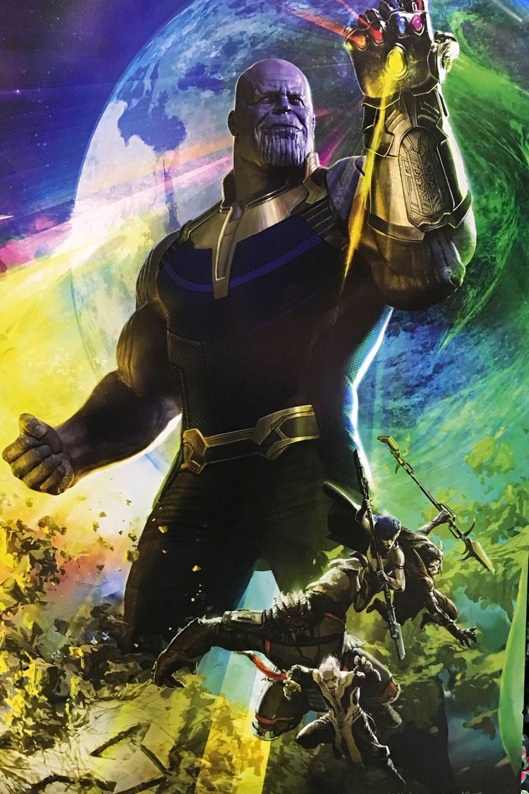 New Avengers Infinity War Poster Shows Thanos And His Black Order