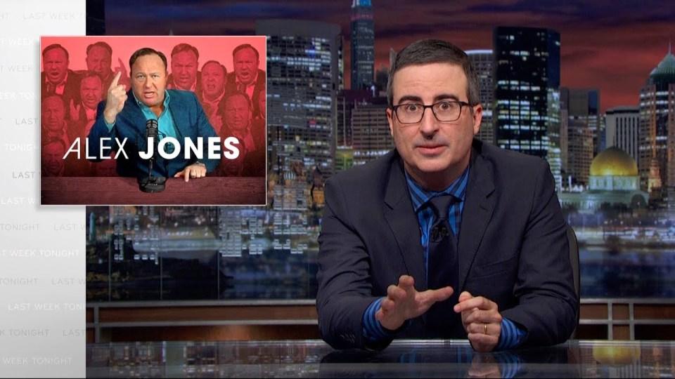 John Oliver-Alex Jones