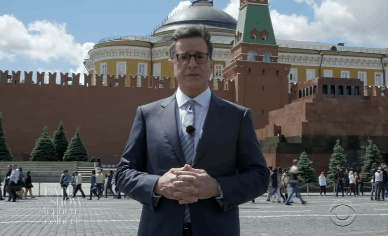 Stephen Colbert, Rules And The 'The Russian White House'