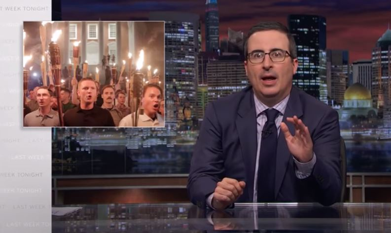 John Oliver And The White Supremacist Rally