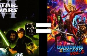 Star Wars Episode VI & Guardians of the Galaxy Vol. 2