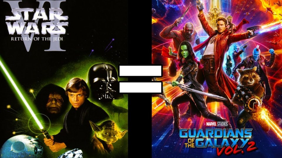 Star Wars Episode VI & Guardians of the Galaxy Vol. 2