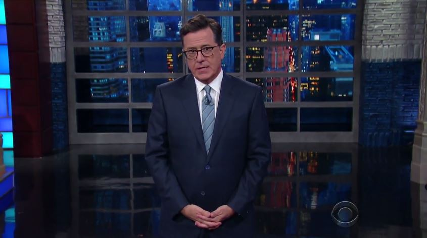 Stephen Colbert: Business Tycoon President Can't Even Work With CEOs