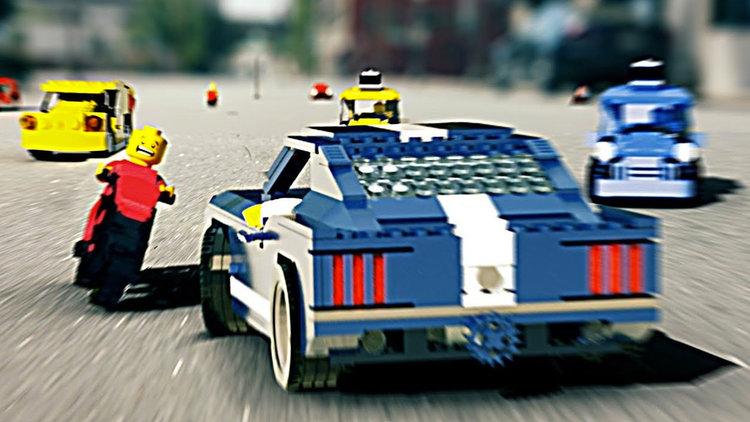 LEGO GRAND THEFT AUTO