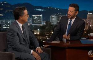 Stephen Colbert-Jimmy Kimmel