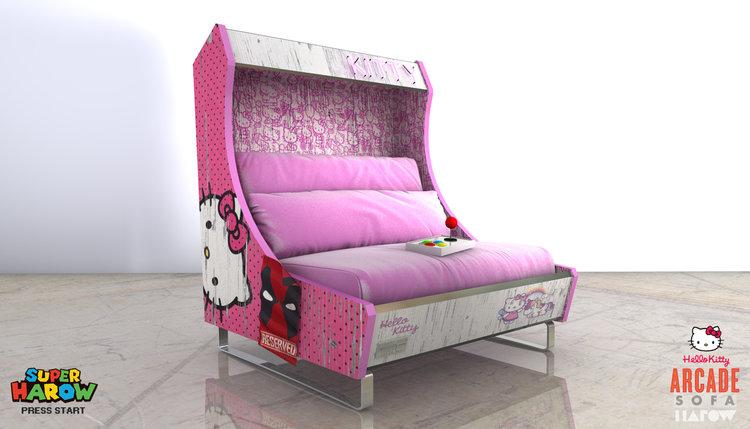 Arcade-Style Sofas