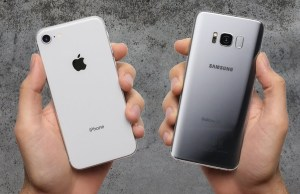 iPhone 8 vs Galaxy S8 Drop Test