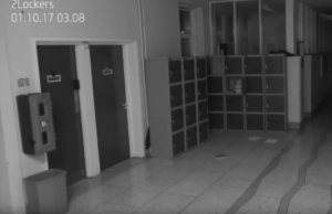 School Surveillance Video Supposedly Capturing a Ghost