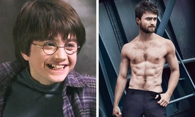 Look at the Harry Potter Stars After 16 Years Later