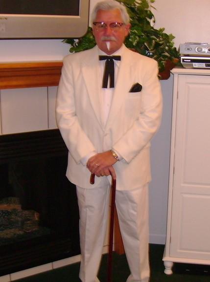 Colonel Sanders cosplay