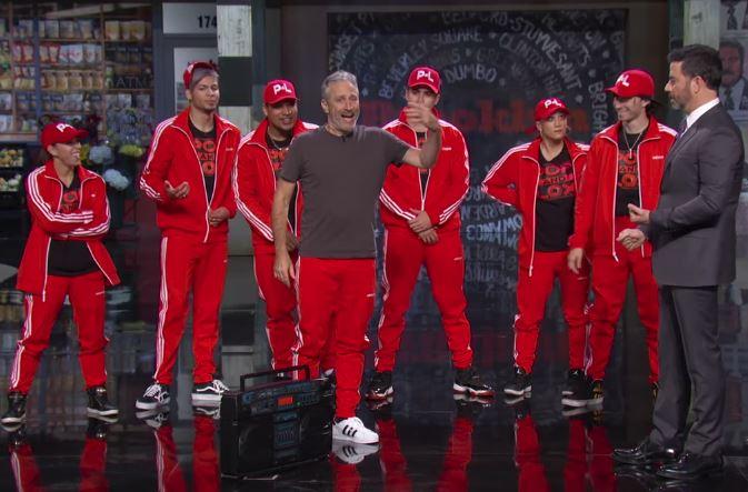 Jon Stewart- Jimmy Kimmel