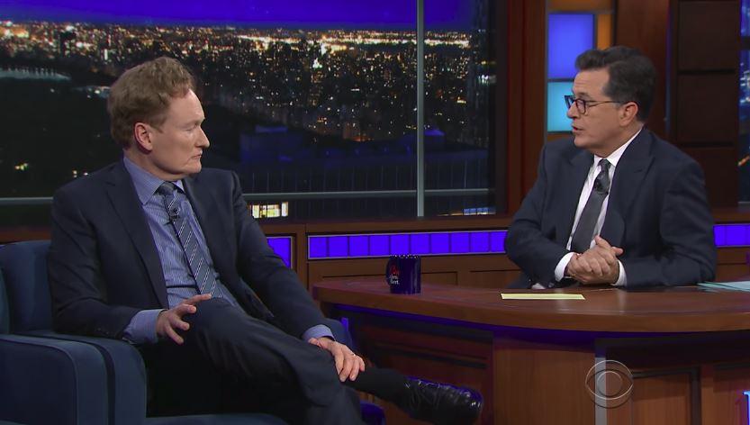 Stephen Colbert-Conan O Brien