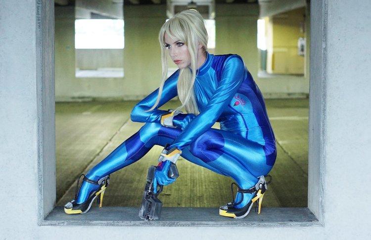 Zero Suit Samus Cosplay
