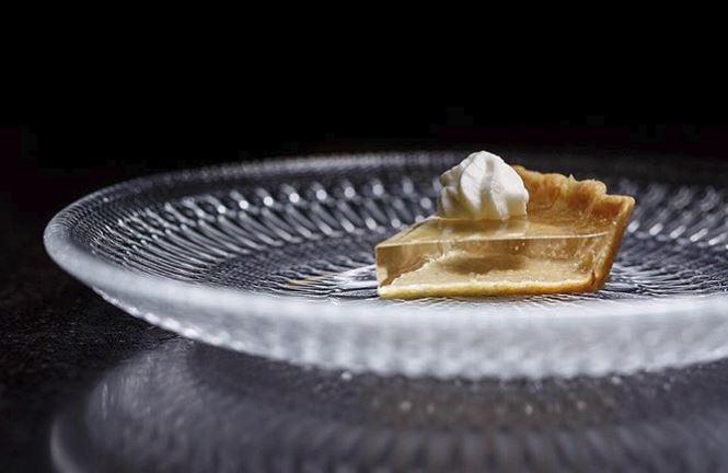 Crystal Clear Pumpkin Pie