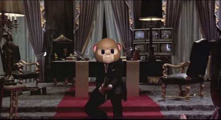 Movie Scenes Recreated Using iPhone X Animojis