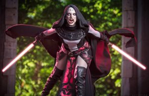 Cosplay of Asajj Ventress