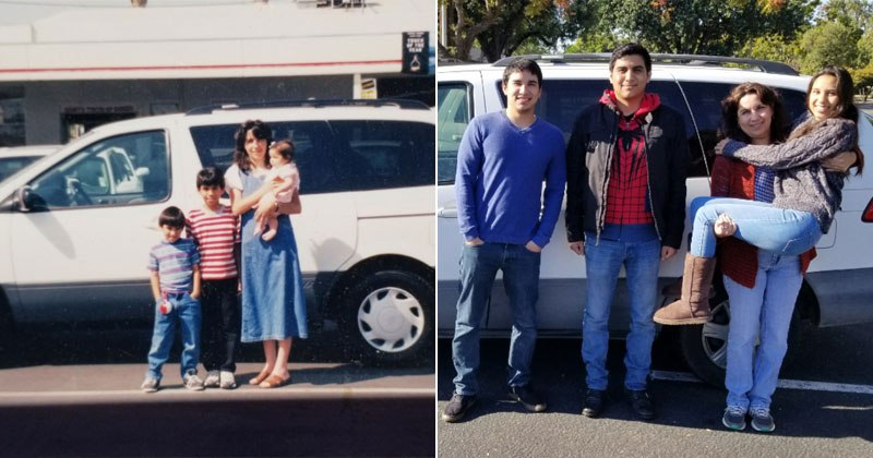 The Day We Bought the Family Van (1999) to the Day We Sold It (2017)