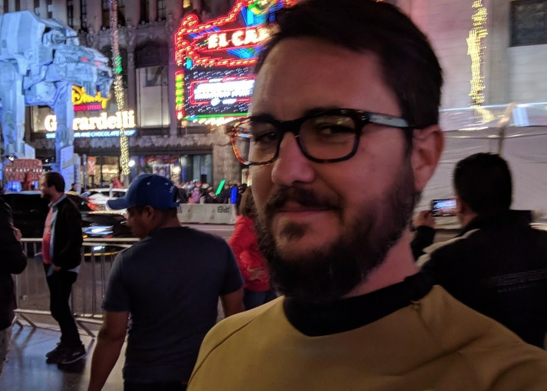 Wil Wheaton Wears 'Star Trek' Uniform To 'Star Wars' In Real Life!