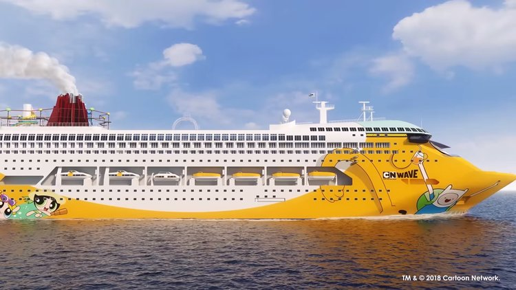 Cartoon Network Cruise Ship