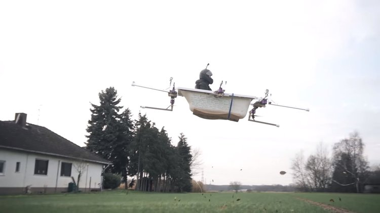 Flying Bathtub