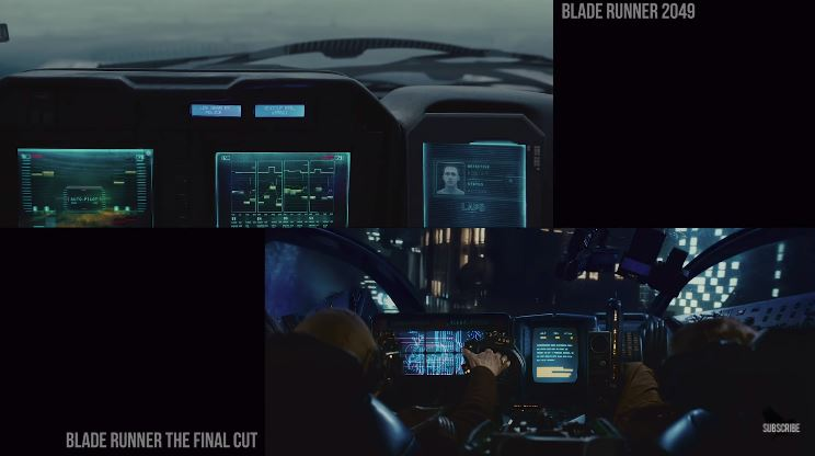 Side By Side Comparison Of BLADE RUNNER And BLADE RUNNER 2049