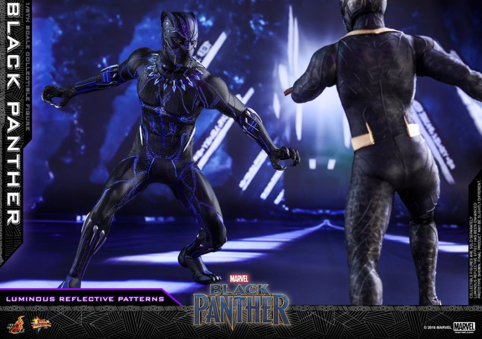 Hot Toys New BLACK PANTHER Action Figure