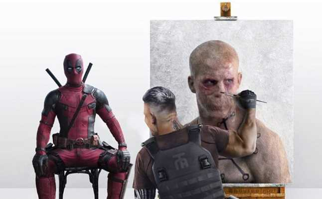 Hilarious Fan Made DEADPOOL 2 Art Shows Cable Painting Deadpool
