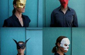 3D Geometric Masks