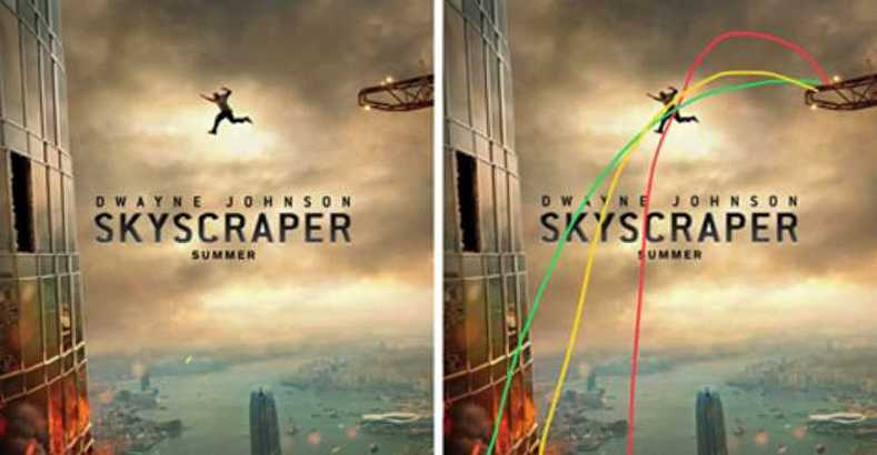 Rock's Fans Notice There's Something Wrong With Skyscraper Movie Poster, And Things Escalate Quickly