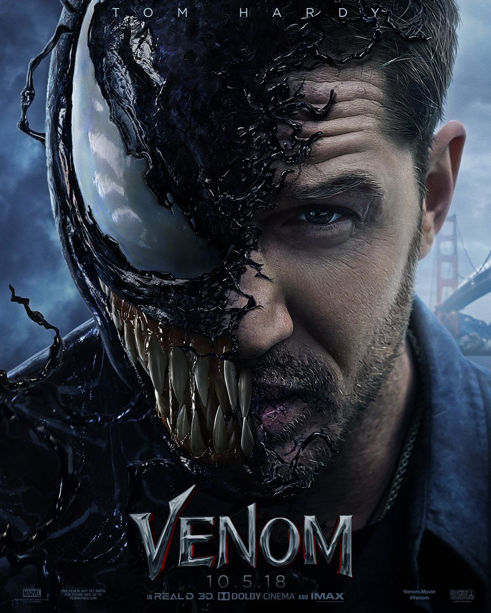 The New Venom Trailer Starring Tom Hardy!