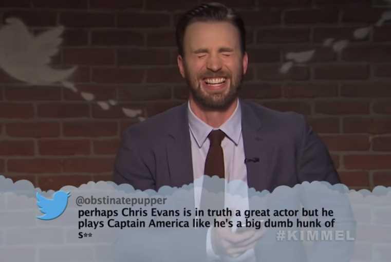 'Avengers: Infinity War' Cast Mean tweets