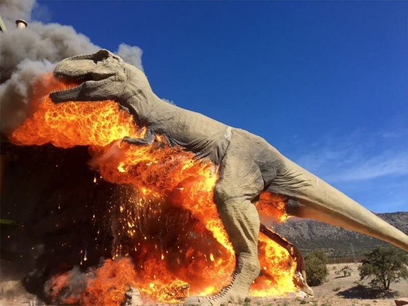 animatronic-trex-on-fire-3