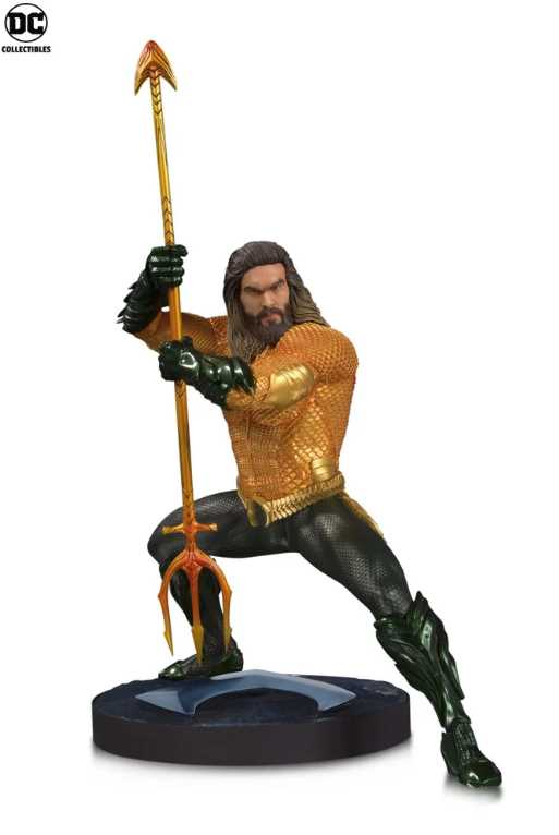 Aquaman statues by DC Collectibles