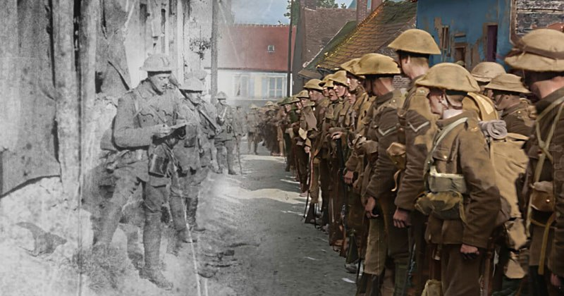 Peter Jackson is Remastering WWI Footage