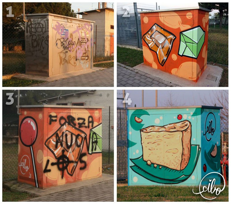 street-artist-cibo-is-fighting-nazis-with-giant-images-of-food-2