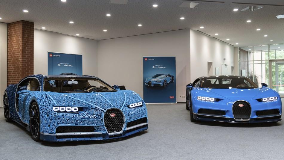 Life-Sized Lego Bugatti Chiron