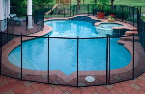 Mesh-Wire Fence for Your Pool
