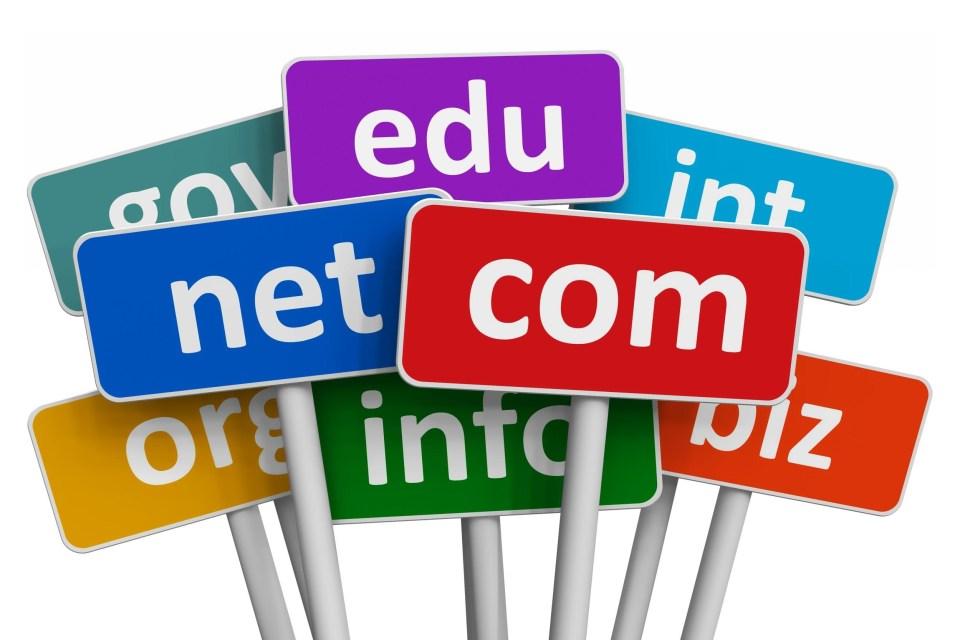 website domains