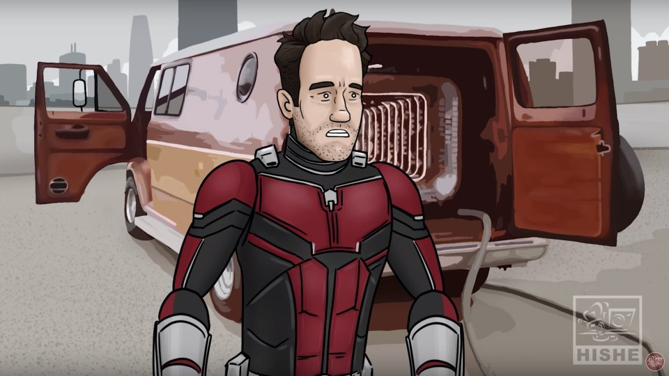 How ANT-MAN AND THE WASP