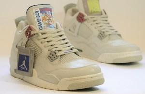 Game Boy-Themed Air Jordans