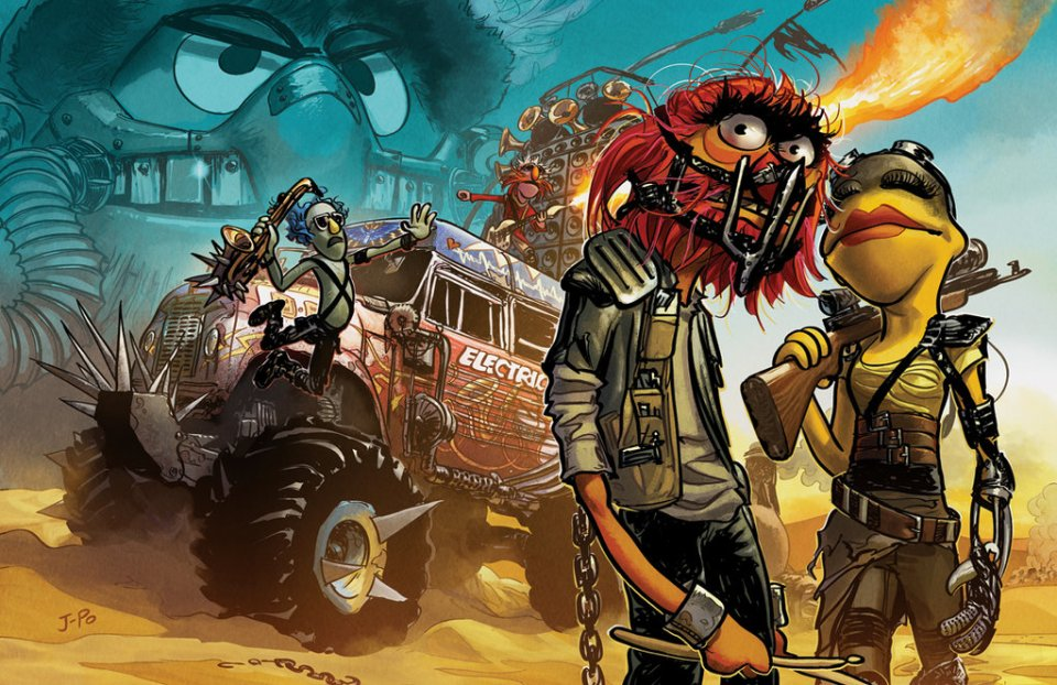 THE MUPPETS Meets MAD MAX